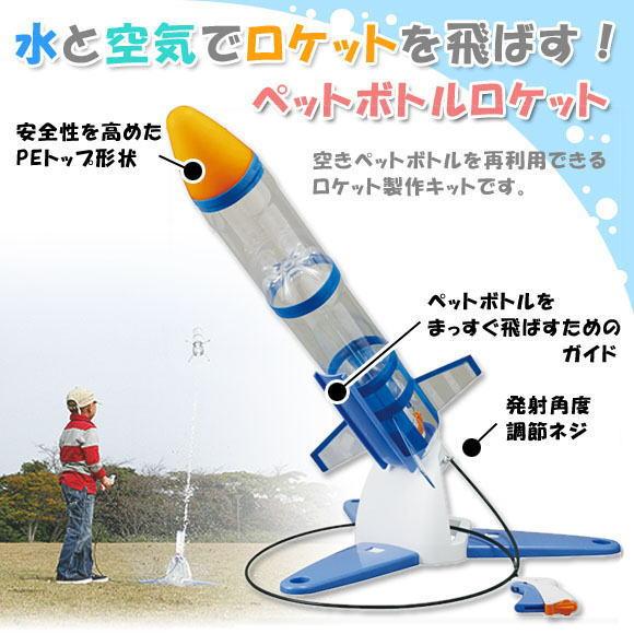 ボトル 作り方 ペット ロケット